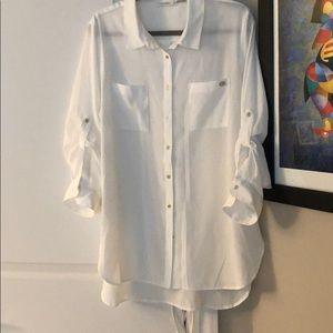 Classic Calvin Klein ladies shirt, XL